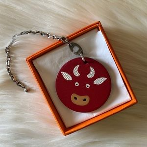 HERMES LUCKY 2009/21 Year of the OX Charm/Keychain